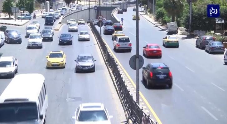 احد شوارع العاصمة عمان