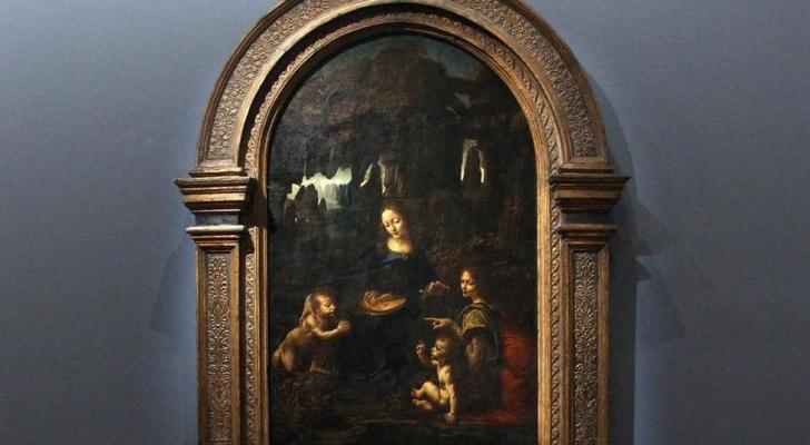 لوحة رسمها ليوناردو دافنشي