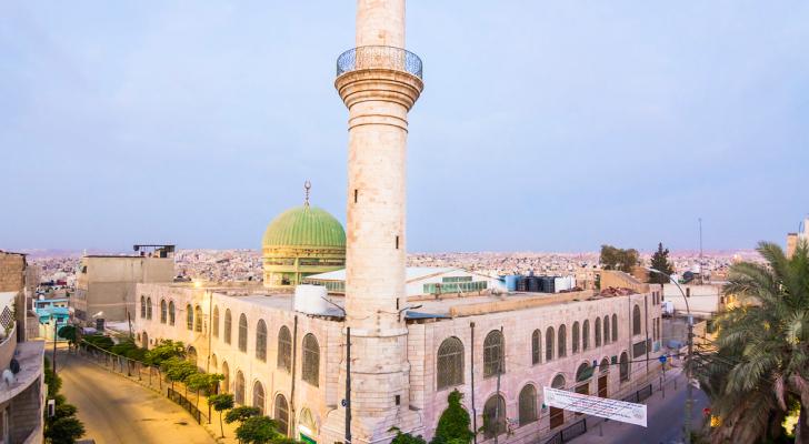 مسجد الشيشان في الزرقاء