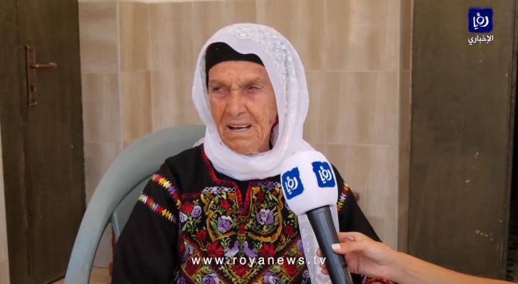 جدةُ النائبةِ من أصلٍ فلسطينيٍ في الكونغرس الأمريكي رشيدَة طليب