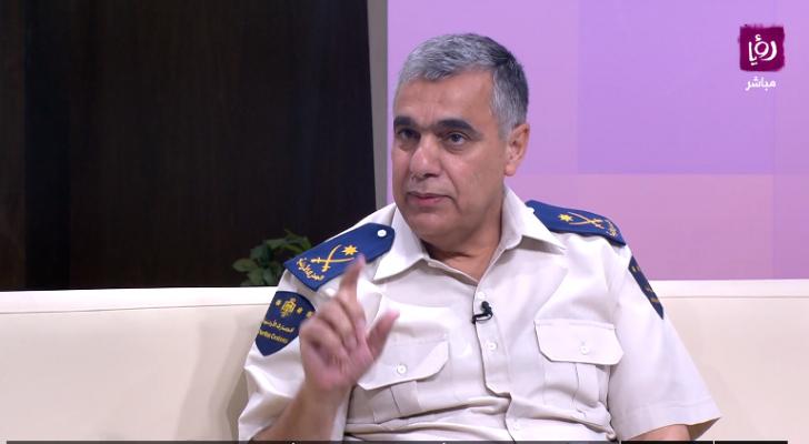 مدير الجمارك اللواء عبدالمجيد الرحامنة