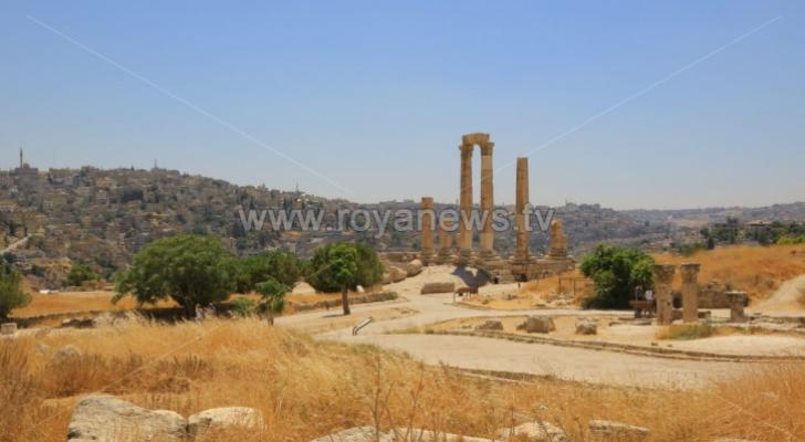 جانب من العاصمة عمّان