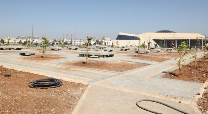 حدائق الملك عبدالله الثاني في المقابلين