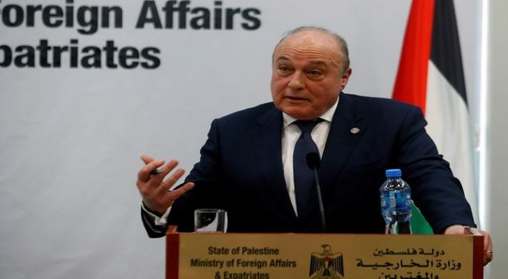 وزير المالية الفلسطيني السابق شكري بشارة