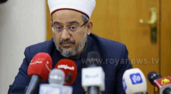 وزير الأوقاف والشؤون والمقدسات الإسلامية الدكتور عبدالناصر أبو البصل