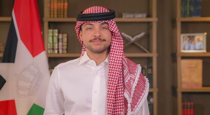 سمو الأمير الحسين بن عبد الله الثاني، ولي العهد - ارشيفية