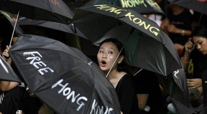 متظاهرو هونغ كونغ