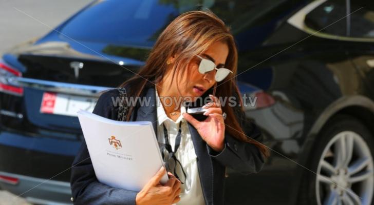 وزير الدولة لشؤون الإعلام الناطق الرسمي باسم الحكومة جمانة غنيمات