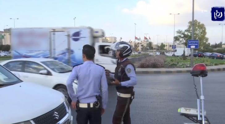 شرطة السير في عمان - ارشيفية