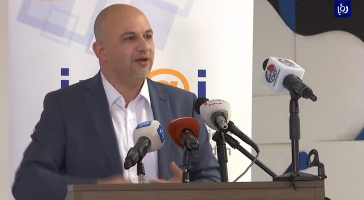 وزير الإتصالات وتكنولوجيا المعلومات مثنى غرايبة
