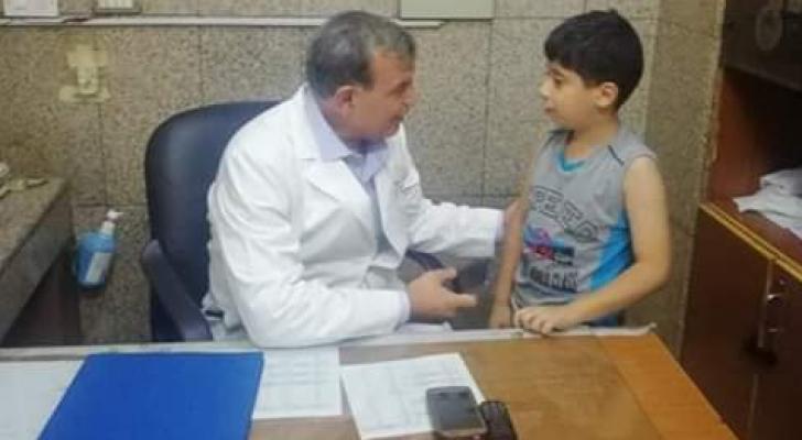 من زيارة وزير الصحة الى مستشفى الامير حمزة