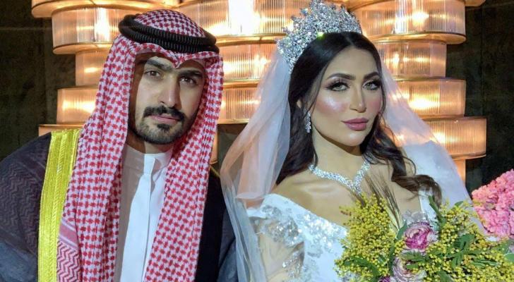 الفاشينيستا خلود متزوجة من الموديل الأردني أمين