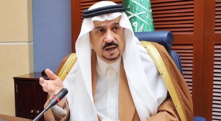 أمير منطقة الرياضفيصل بن بندر - ارشيفية