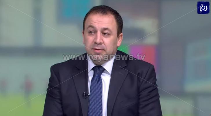 الدكتور ليث نصراوين استاذ القانون في الجامعة الأردنية