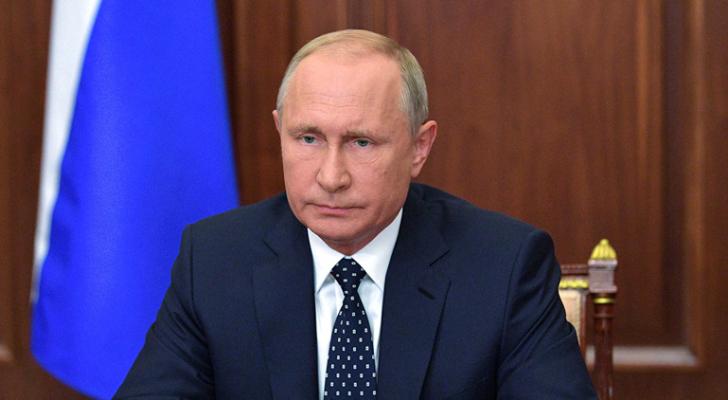 الرئيس الروسيّ فلاديمير بوتين - ارشيفية