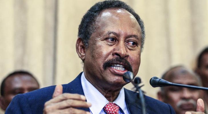 رئيس الوزراء السوداني عبدالله حمدوك - ارشيفية