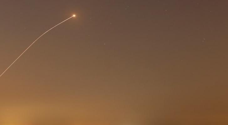 اطلاق صاروخ - ارشيفية