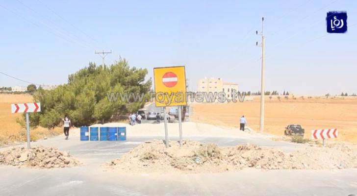 الأشغال العامة تبدأ اعمال صيانة الطريق الملوكي في الكرك