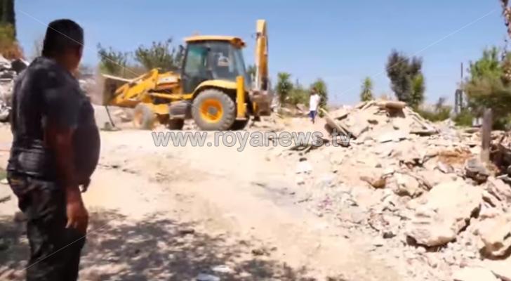 الاحتلال يعيد هدم منزل ومطعم قيسية في بيت لحم