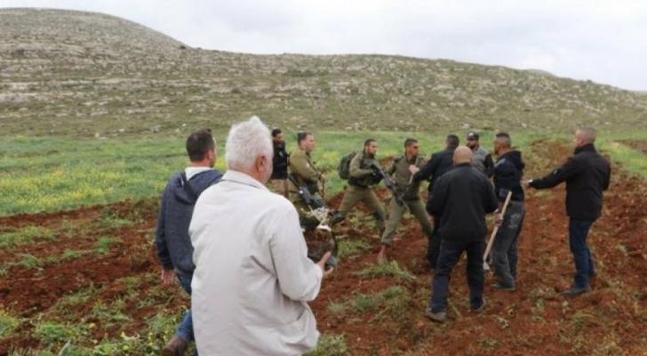الاحتلال يستولي على اراضي في الضفة - ارشيفية