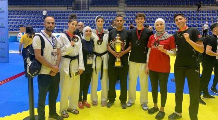 منتخبنا الوطني للتايكواندو يحصد 5 ميداليات ذهبية في بطولة بيروت
