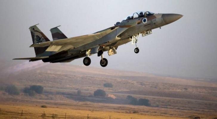 طائرة تابعة للاحتلال