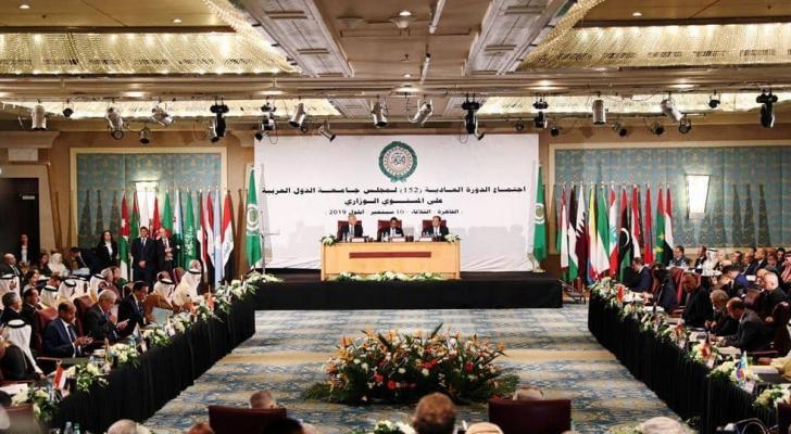 الجلسة الطارئة لمجلس الجامعة العربية