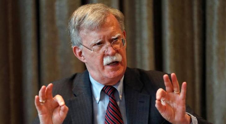 لم تتم دعوة بولتون مؤخرا لمناقشة مسودة الاتفاق مع طالبان
