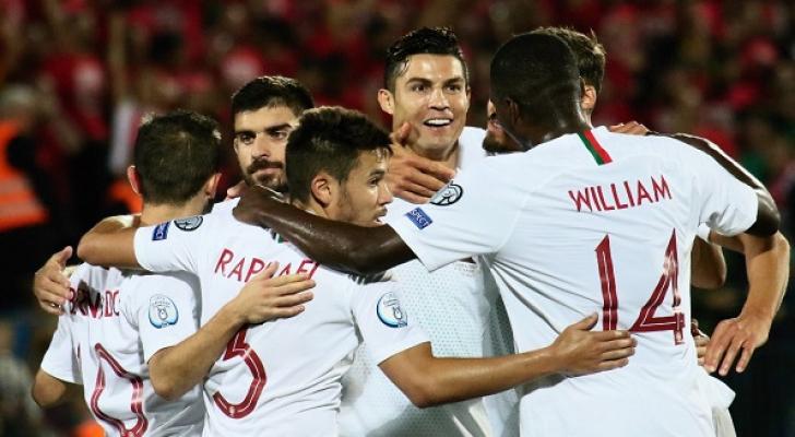 البرتغال تواصل صحوتها بسوبر هاتريك لرونالدو