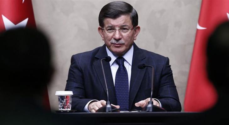 ئيس الوزراء التركي السابق أحمد داوود أوغلو - ارشيفية