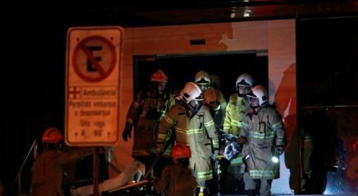 وفاة 11 شخصا على الأقل جراء حريق في أحد مستشفيات ريو دي جانيرو