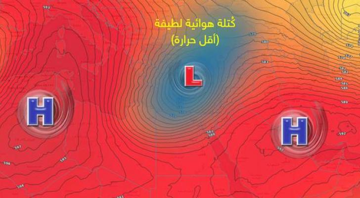 تقلبات خريفية كبيرة مُرتقبة خلال الأسبوع الحالي .. وفرصة لزخات من الأمطار يوم الأحد