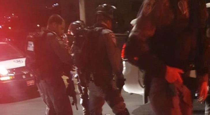 اقتحام قوات الاحتلال بلدة العيسوية بالقدس المحتلة