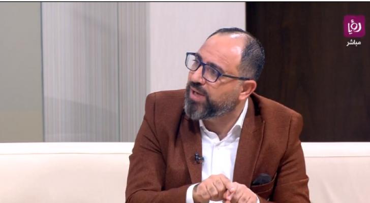 رئيس المركز الوطني للعدالة البيئية د. محمد عيادات