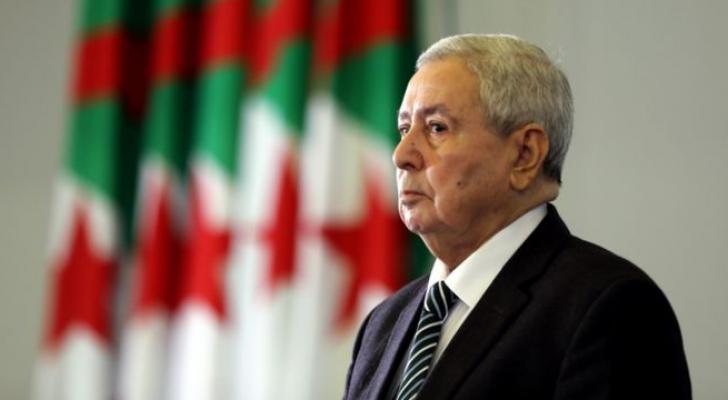 الرئيس الجزائري المؤقت عبد القادر بن صالح - ارشيفية