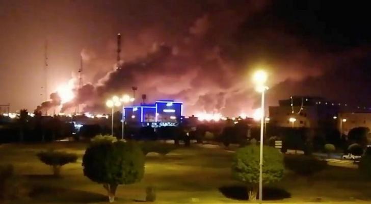 مهاجمة منشآت نفطية سعودية بالطائرات المسيرة