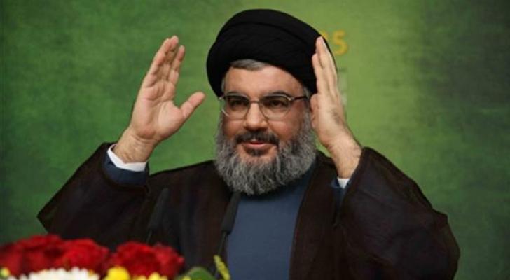 """الأمين العام لـ""""حزب الله"""" اللبناني حسن نصر الله - ارشيفية"""