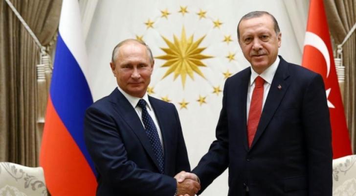 أردوغان وبوتين - ارشيفية