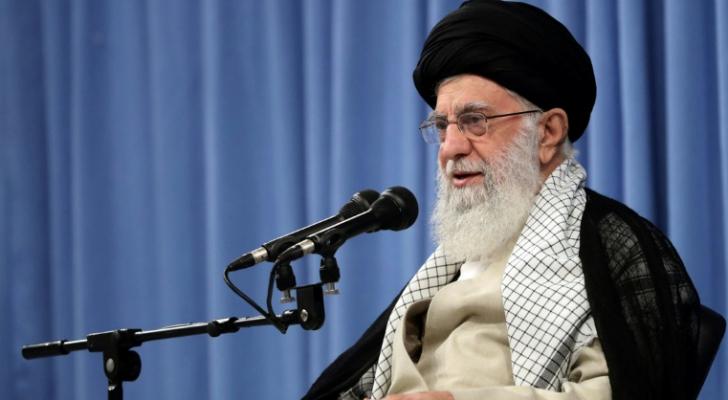 المرشد الأعلى للجمهورية الإسلامية آية الله علي خامنئي