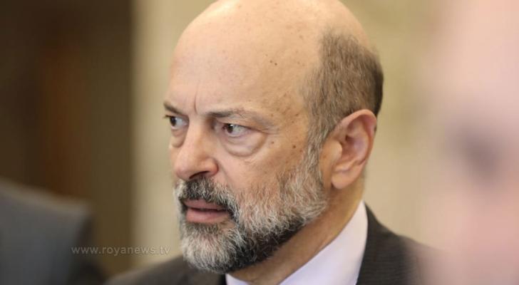رئيس الوزراء عمر الرزاز - ارشيفية