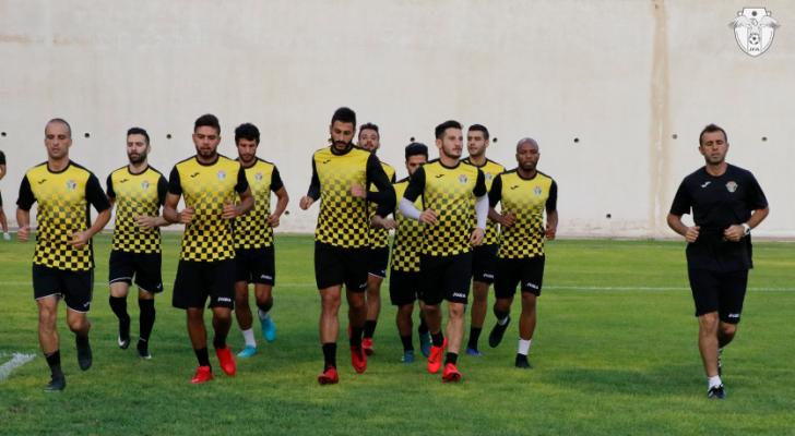 من التدريبات - اتحاد كرة القدم