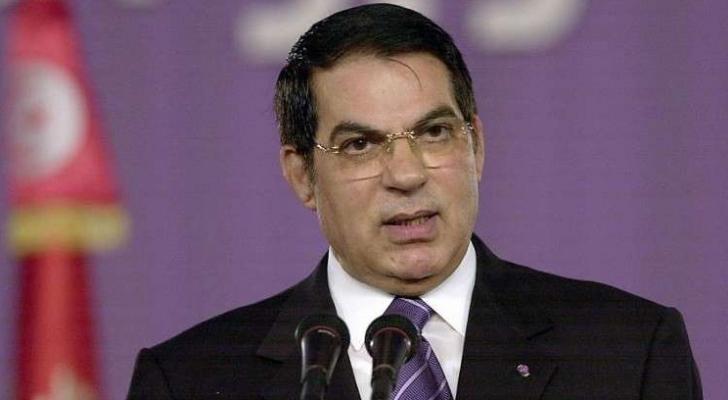 الرئيس التونسي الأسبق زين العابدين بن علي - ارشيفية