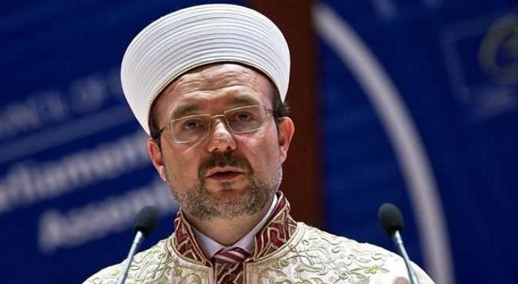 وزير الشؤون الدينية التركي الاسبق محمد غورماز - ارشيفية