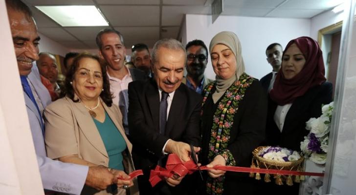 خلال افتتاح المركز الوطني لتشخيص السرطان والأمراض الوراثية