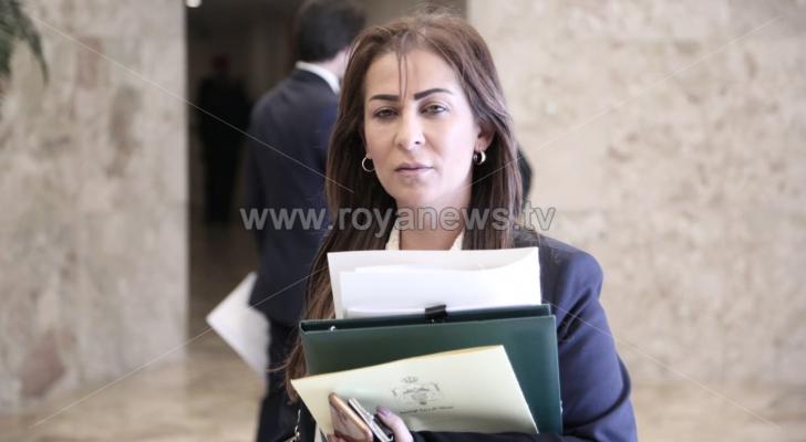 الناطق باسم الحكومة جمانة غنيمات