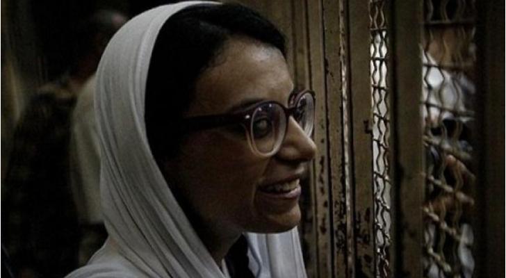 المحامية المدافعة عن حقوق الانسان ماهينور المصري