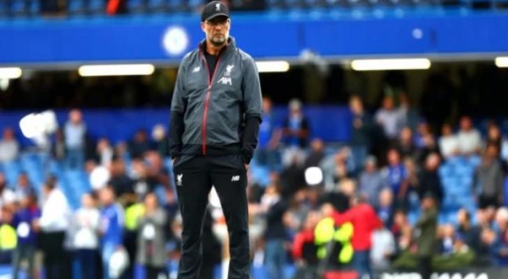المدرب الألماني يورجن كلوب المدير الفني لنادي ليفربول