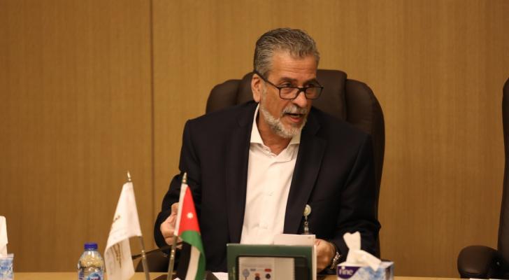 خالد الكلالدة رئيس مجلس مفوضي الهيئة المستقلة للانتخاب - ارشيفية