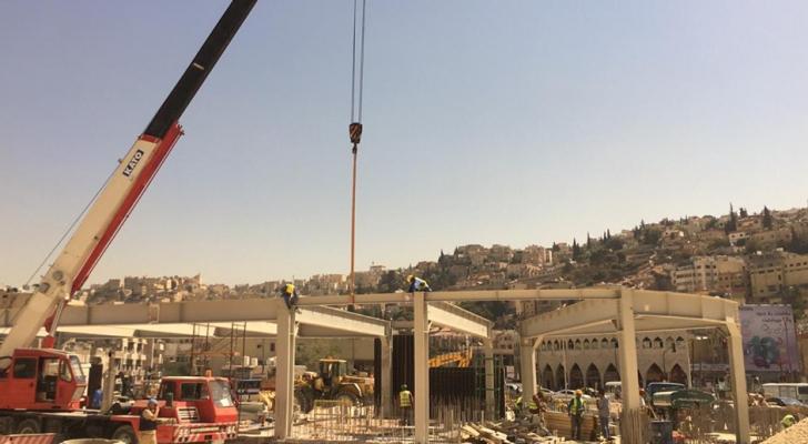 من منطقة محطة الركابفي شارع عمر مطر
