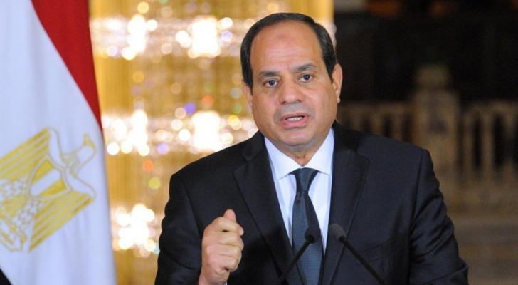 الرئيس عبد الفتاح السيسي - ارشيفية